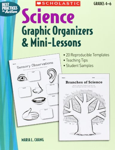 9780439548960: Science Graphic Organizers & Mini-Lessons (Best Practices in Action)