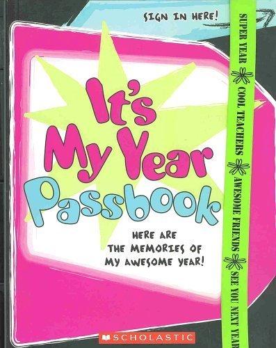 It's My Year Passbook: Heather Dakota