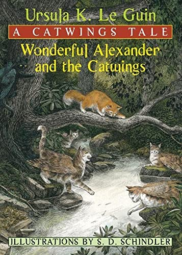 Wonderful Alexander and the Catwings (Paperback): Ursula K Le