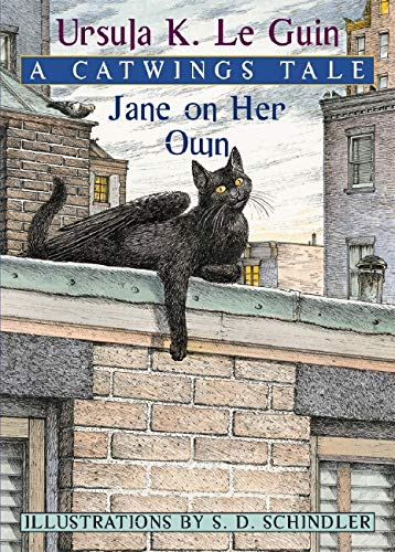 Jane on Her Own: A Catwings Tale (9780439551922) by Ursula Le Guin