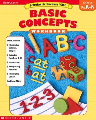 9780439553681: Scholastic Success With Basic Concepts: Grades Pre K-K