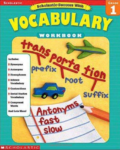 9780439553797: Scholastic Success with Vocabulary: Grade 1