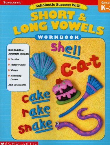 9780439553902: Scholastic Success With: Short & Long Vowels Workbook