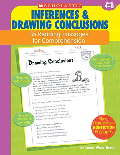 9780439554114: 35 Reading Passages for Comprehension: Inferences & Drawing Conclusions