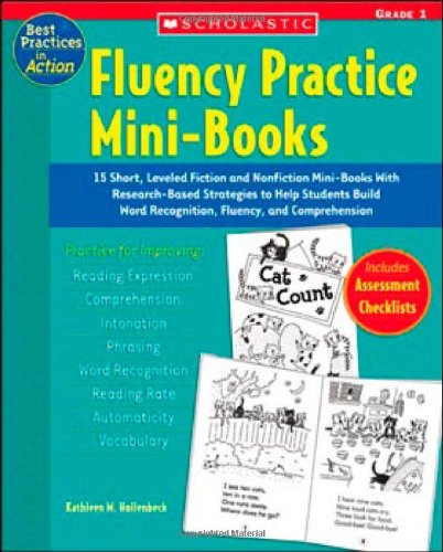 9780439554169: Fluency Practice Mini-Books: 15 Short, Leveled Fiction and Nonfiction Mini-Books with Research-Based Strategies to Help Students Build Word Recogni (Best Practices in Action)
