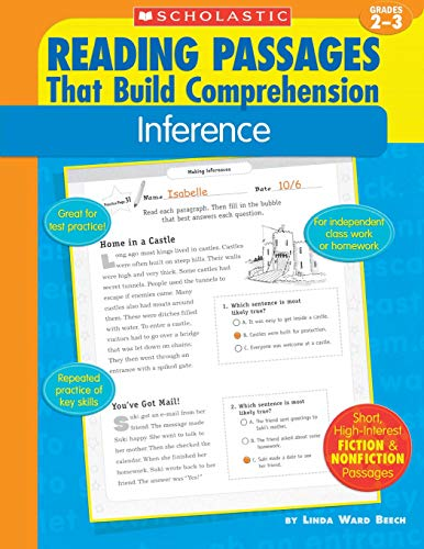 9780439554244: Inference (Reading Passages That Build Comprehension)