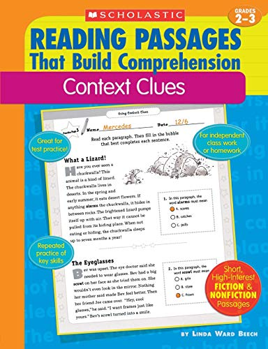 9780439554268: Context Clues (Reading Passages That Build Comprehension)
