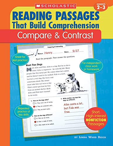 9780439554275: Compare & Contrast (Reading Passages That Build Comprehension)