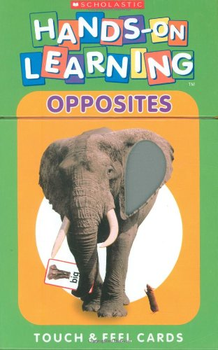 9780439557382: Opposites: Touch & Feel Cards