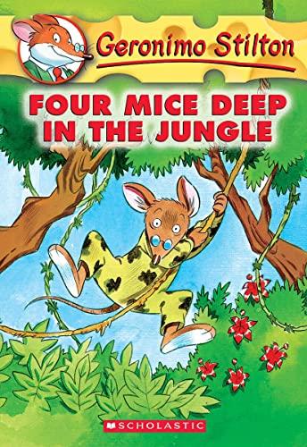 9780439559676: Four Mice Deep in the Jungle (Geronimo Stilton, No. 5)
