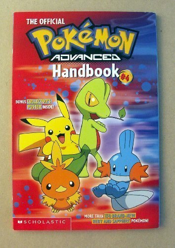 9780439559898: The Official Pokemon Advanced Handbook #4 - Scholastic 2003 (POKEMON, 4)