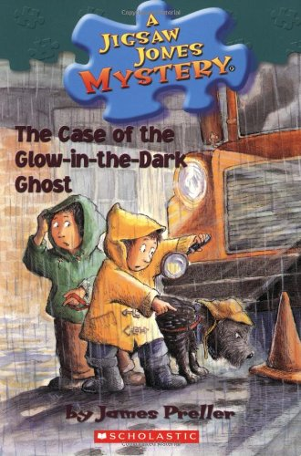 9780439559980: The Case of the Glow-in-the-Dark Ghost (Jigsaw Jones, No. 24)