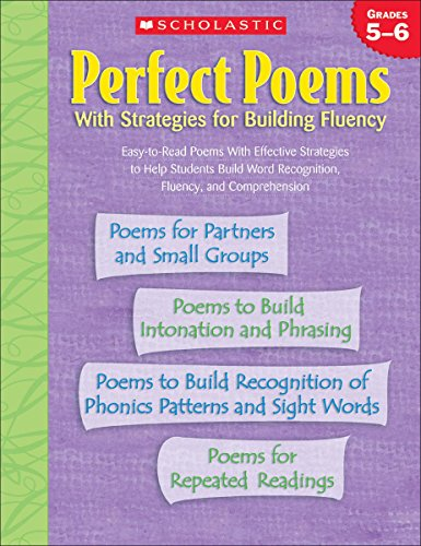 9780439560214: Perfect Poems: With Strategies for Building Fluency (Grades 5-6)