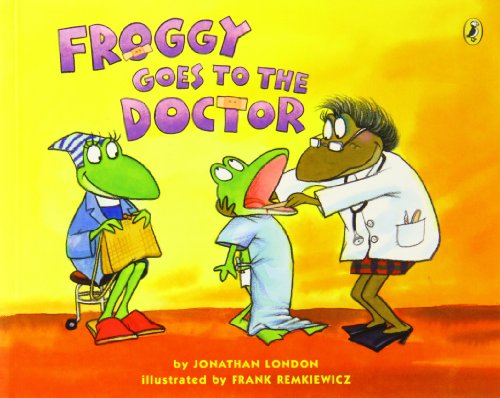 9780439562263: Froggy Goes to the Doctor Froggy, Jonathan London, New Book