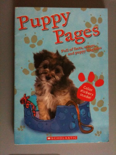 9780439567442: Puppy Pages