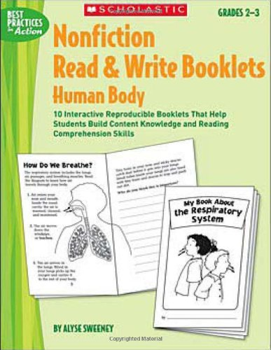 Nonfiction Read & Write Booklets: Human Body: Sweeney, Alyse