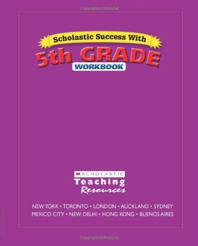9780439569736: Scholastic Success With: 5th Grade Workbook