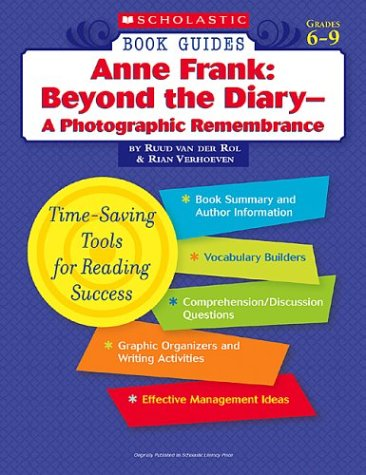 9780439572460: Anne Frank: Beyond the Diary - A Photographic Remembrance (Scholastic Book Guides, Grades 6-9)