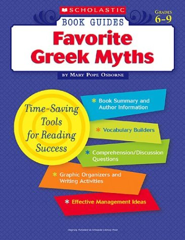9780439572538: Favorite Greek Myths (Scholastic Book Guides, Grades 6-9)