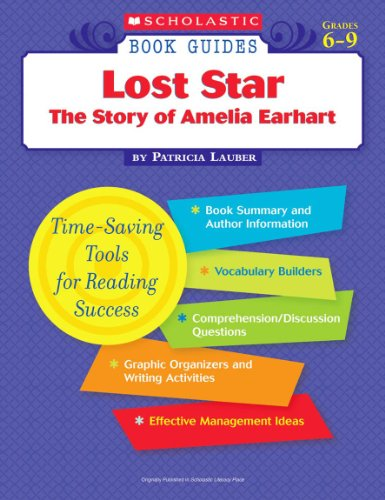 9780439572576: Lost Star The Story of Amelia Earhart (Scholastic Book Guides, Grades 6-9)