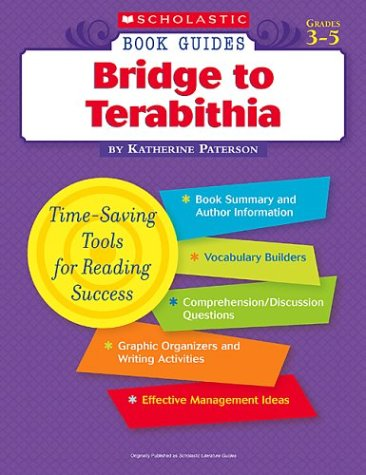 9780439572637: Bridge to Terabithia (Scholastic Book Guides, Grades 3-5)