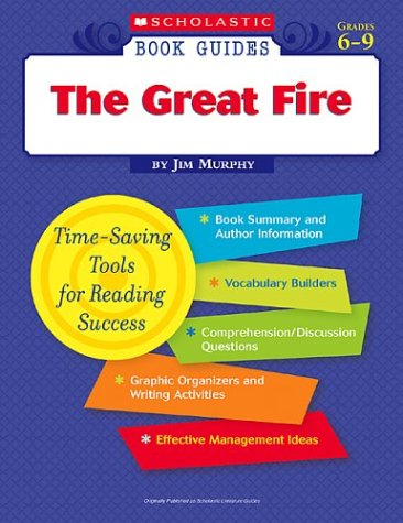 9780439572729: The Great Fire (Scholastic Book Guides Grades 6-9)