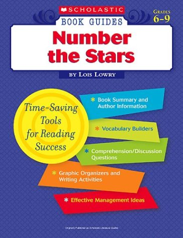 Number the Stars (Scholastic Book Guides, Grades 6-9)
