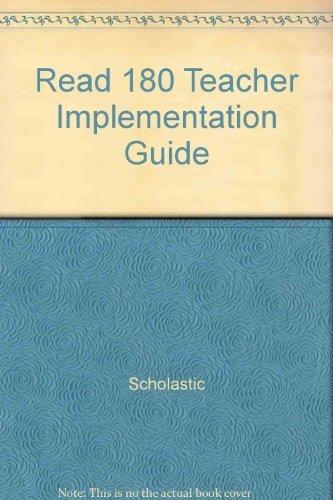 9780439573931: Read 180 Teacher Implementation Guide