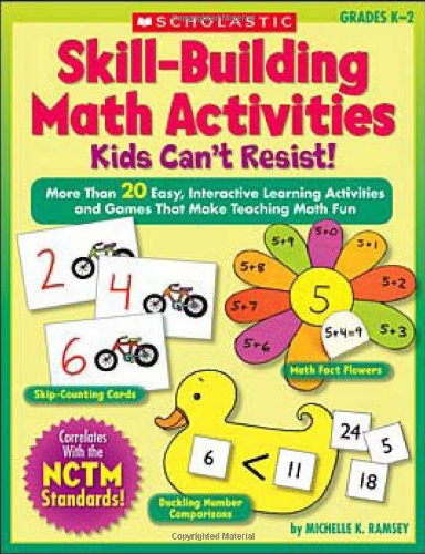 9780439574068: Skill-Building Math Activities Kids Can't Resist!: Grades K-2