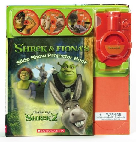 9780439576314: Shrek & Fiona's Slide Show Projector Book: Featuring Shrek 2