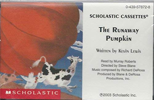 9780439578721: The Runaway Pumpkin (Audiocassette)
