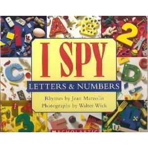 9780439592741: I Spy Letters & Numbers