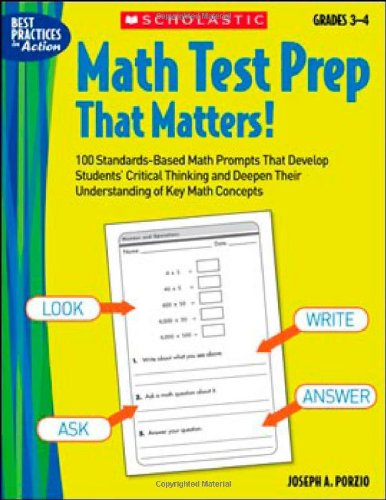 Math Test Prep That Matters! Grades 3?4: Porzio, Joseph A.,