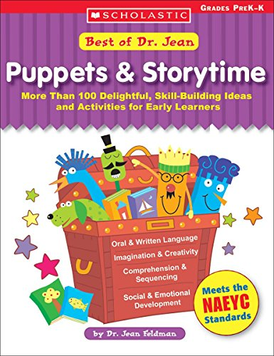 9780439597272: Best of Dr Jean: Puppets & Storytime: More Than 100 Delightful, Skill-Building Ideas and Activities for Early Learners