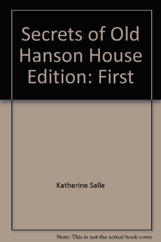 9780439597753: Secrets of Old Hanson House