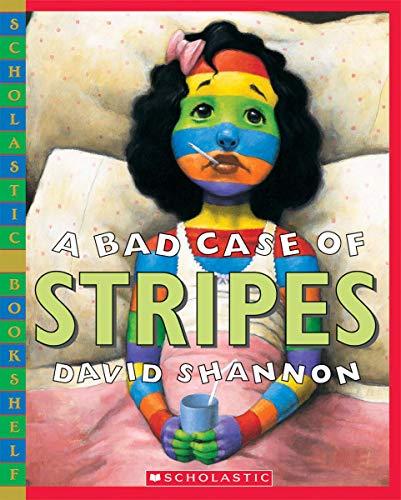 9780439598385: A Bad Case of Stripes (Scholastic Bookshelf)