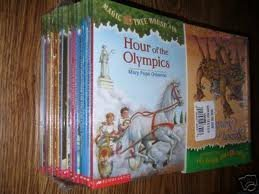 9780439603027: Magic Tree House (Box Set) Earthquake in the Early Morning. Ghost Town At Sundown, Twister on Tuesday, Vacation on the Volcano (Magic Tree House)