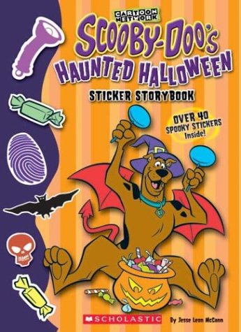 9780439606998: Scooby-Doo's Haunted Halloween Sticker Storybook [With Stickers]