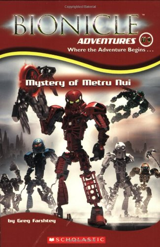 9780439607315: Mystery of Metru Nui (Bionicle Adventures)