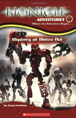 9780439607315: Bionicle Adventures #1: Mystery of Metru Nui