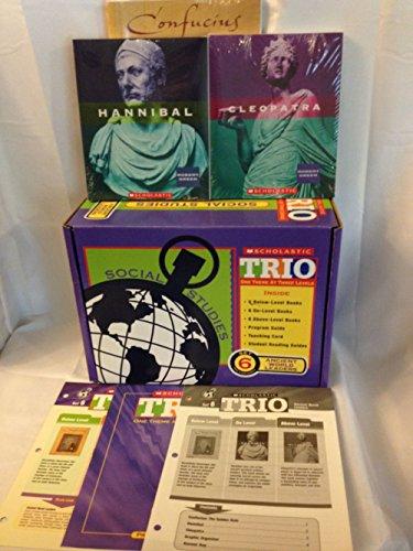 Scholastic Trio Individual Theme Unit Set 6, Social Studies - Ancient World Leaders, Grades 6-7: ...