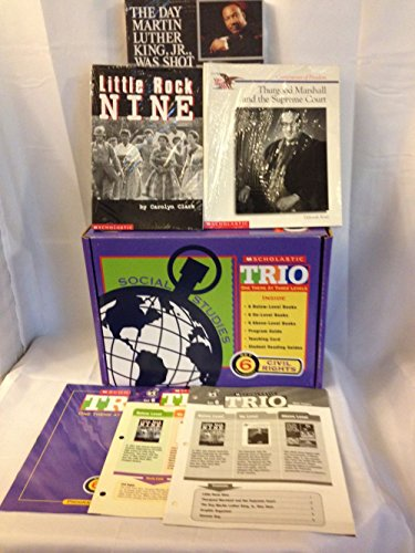 Scholastic Trio Individual Theme Unit Set 6, Social Studies - Civil Rights, Grades 6-7: Scholastic