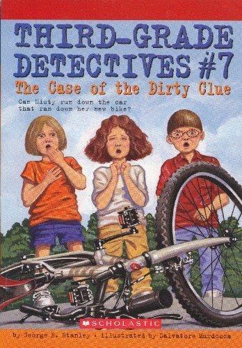 9780439618878: The Case of the Dirty Clue (Third-Grade Detectives, No. 7)