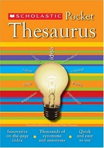9780439620376: Scholastic Pocket Thesaurus (Scholastic Reference)