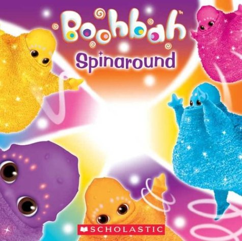 Boohbah Spinaround Book Sparkly Spinner By Ragdoll Limited