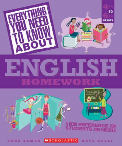 9780439625456: Everything You Need...english To Know About English Homework (Everything You Need to Know about (Scholastic Paperback))