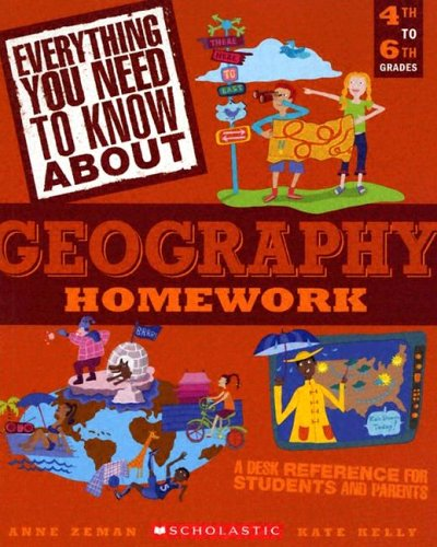 9780439625463: Everything You Need To Know About Geography Homework