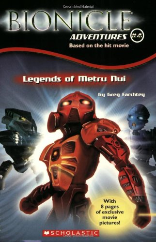 9780439627474: Legends of Metru Nui (Bionicle Adventures)