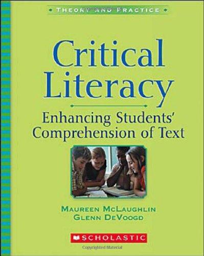 9780439628044: Critical Literacy