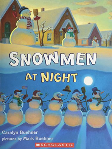 9780439631556: Snowmen at Night